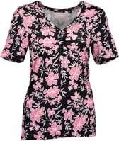 Blue Seven dames shirt zwart/roze - maat 40