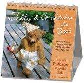 Teddy & Co entdecken die Welt 2020. Postkarten-Kalender