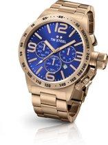 TW Steel CB184 Canteen Bracelet Collection - Horloge -  50 mm - Rosékleurig