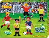 Strijkkralen voetbal 4000 stuks