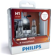 Philips X-treme Vision - Autolampenset H1 - 12V