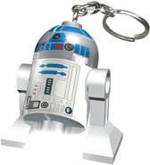 Lego: Star Wars - R2D2  Sleutelhanger met licht