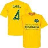 Australië Cahill 4 Team T-Shirt - Geel - XL