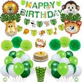 Partizzle® Jungle Thema Party Verjaardag Feestje Versiering - Safari Decoratie Kinderfeestje - XXL