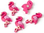 Trendform flamingo magneetset 5 stuks