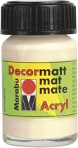Decormatt acryl 15 ml - Beige
