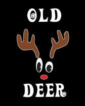 Old Deer: Deer Elk Antler Hunting Hobby 2020 Monthly Planner Dated Journal 8'' x 10'' 110 pages