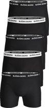 Bjorn Borg boxershorts Essential - 5-pack - zwart -  Maat S