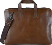MYOMY My Paper Bag Aktetas - 15 inch laptoptas - rambler brandy