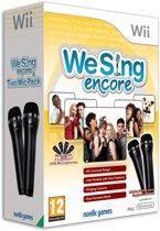 We Sing - Encore + 2 Microfoons