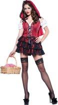 Sexy Roodkapje kostuum voor dames - Premium - Verkleedkleding - Large