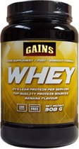 GAINS Whey Protein - Banaan (908g)