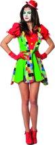 Clowns jurk Pepina voor dame maat 40