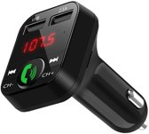 W&D Premiums Bluetooth FM Transmitter - Bluetooth Radio - Bluetooth Car Player - Auto Oplader - Bluetooth handsfree carkit