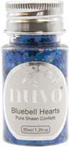 Tonic Studios • Nuvo confetti 35ml bluebell hearts
