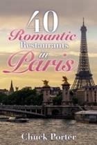 40 Romantic Restaurants in Paris
