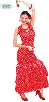 Flamenco Jurk Rood