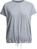 Rohnisch To Hatha Loose Tee Sportshirt Dames - Grey Melange