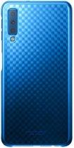 Samsung Gradation Cover - Samsung Galaxy A7 (2018) - Blauw