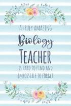 A Truly Amazing Biology Teacher Is Hard to Find and Impossible to Forget
