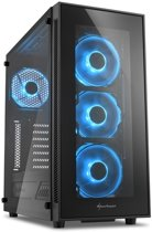 AMD Ryzen 5 2600 Allround Game Computer / Gaming PC - RX 570 4GB - 8GB RAM - 240GB SSD - 1TB HDD - TG5