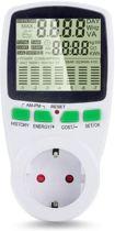 Energiekostenmeter Intelligente AC-Machtsmeter Wattmeter Factureringsenergie KWh Voltage Huidige Frequentie Elektriciteitsmonitor van de Machtsmeter