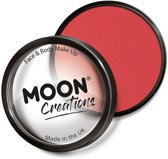 Moon Creations Schmink Pro Face Paint Cake Pots 36 Gram Helderrood