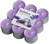 Bolsius Geurkaars Geurtheelicht 4 uur brick 18 French lavendel