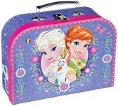 Disney Frozen-Koffer-paars - Maat One-size