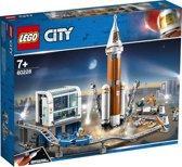 LEGO City Ruimtevaart Ruimteraket en Vluchtleiding - 60228