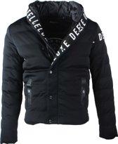 Deeluxe - Heren Winterjas - Capuchon - Model Gang - Zwart