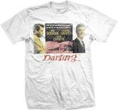 StudioCanal - Darling heren unisex T-shirt wit - L