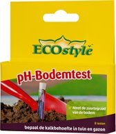 ECOstyle pH-Bodemtest - zuurgraadtest voor 8 tests