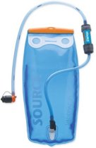 Source waterfilter Filter kit met Widepack en Mini Sawyer 2 liter - blauw