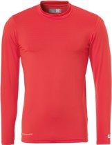 Uhlsport Distinction Colors Baselayer  Sportshirt performance - Maat L  - Mannen - rood