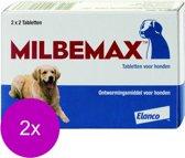 Novartis Milbemax Hond - Anti wormenmiddel - 2 x 4 tab 10 Tot 75 Kg