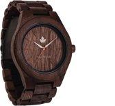 De officiële WoodWatch | Walnut | Houten horloge