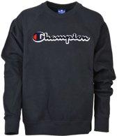 Champion Meisjes sweaters Champion Basis sweat shirt zwart S