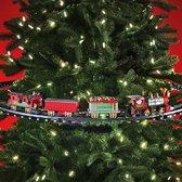 MikaMax Tree Train Kersttreinen - 137 cm - Op batterij