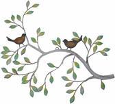 Wanddecoratie tak met vogels