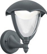 Trio Leuchten WL Cappe - Wandlamp - 1 lichts - Ø 200 mm - antraciet