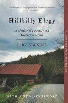 Boek cover Hillbilly Elegy van J. D. Vance