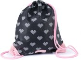 Zebra Trends Gymtas - Crossed Hearts