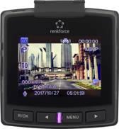 Dashcam met GPS Kijkhoek horizontaal (max.): 152 ° 12 V, 5 V/DC Display, Accu, Microfoon