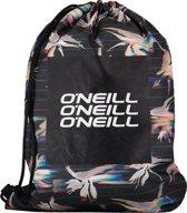 O'Neill Sporttas Bm graphic - Black Aop W/ Yellow - One Size