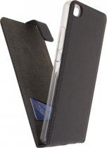 Mobilize Classic Gelly Flip Case Huawei P8 Black