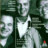 Brahms: Double Concerto;  Mendelssohn / Perlman, Ma, et al