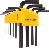 Stanley Inbus-Stiftsleutelset 1,5-10 mm - 10-delig