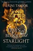 Omslag van 'Days of Blood and Starlight'