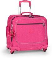 Kipling Manary - Schooltas met wielen - 15 inch - Pink Berry C